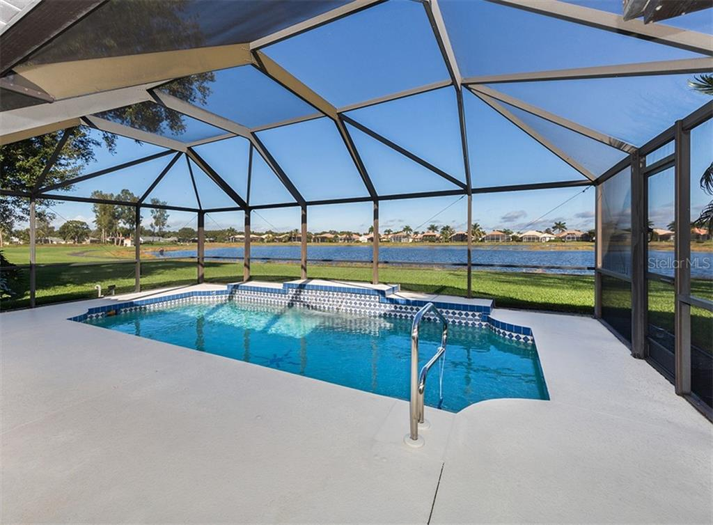 Pool - Single Family Home for sale at 515 Park Estates Sq, Venice, FL 34293 - MLS Number is N6103193